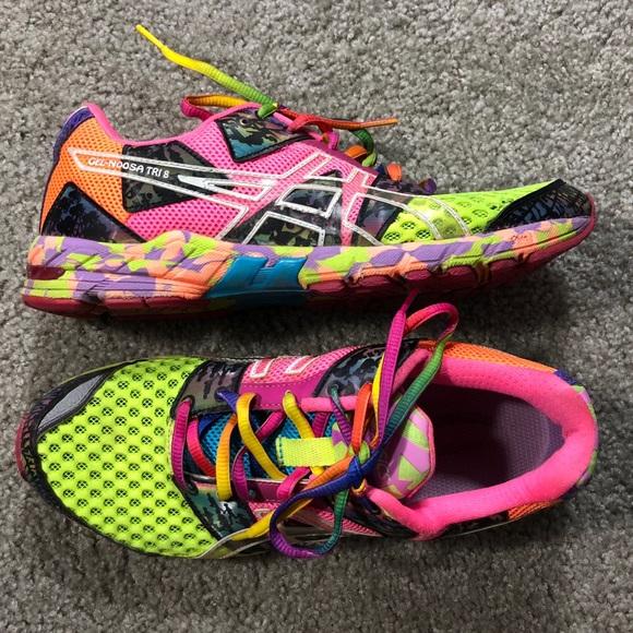 premium selection fc77a de68b Asics Shoes - Asics Gel Noosa Tri 8 Womens Running Shoes 9
